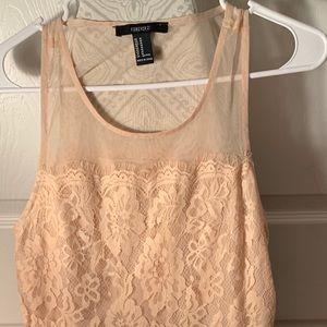 Vintage pink/creme dress